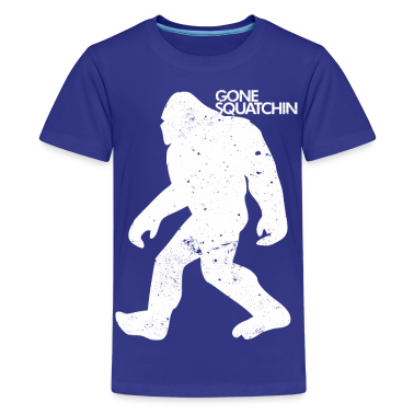 GONE SQUATCHIN Kids' Shirts