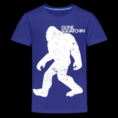 GONE SQUATCHIN Kids' Shirts