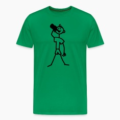 drinking_stick_figure_1c T-Shirts
