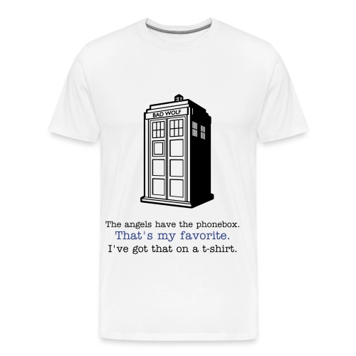 The Angels Have the Phonebox - Men's Premium T-Shirt
