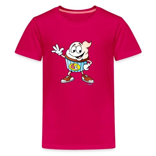 Cupcake Charlie Kids Tee  - Kids' Premium T-Shirt