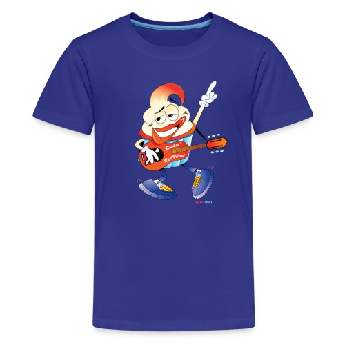 Rockin' Red Velvet Cupcake Kids Tee - Kids' Premium T-Shirt