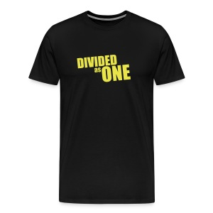 DA1 Yellow Logo Shirt - Men's Premium T-Shirt