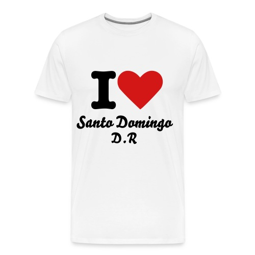 I Love Santo Domingo Tee  - Men's Premium T-Shirt