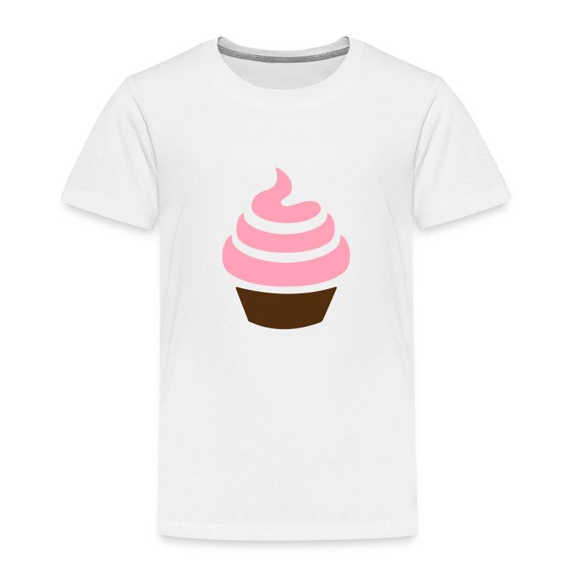 Cupcake Toddler Tee - Toddler Premium T-Shirt