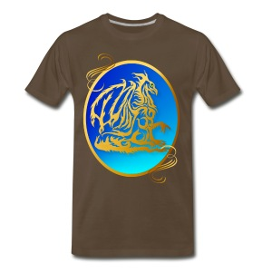 Gold Dragon 3 - Men's Premium T-Shirt