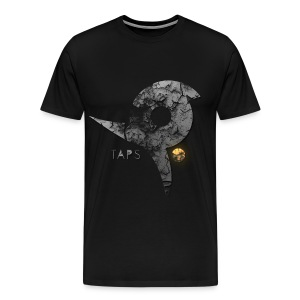 Super burned Taps Sybol - Men's Premium T-Shirt
