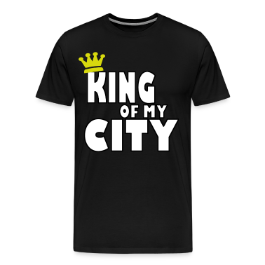 king of my city T-Shirts