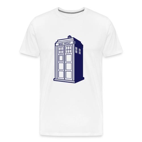 tardis badwolf t-shirt - Men's Premium T-Shirt