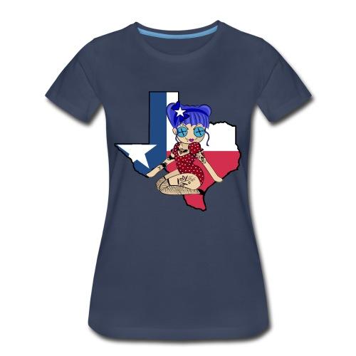 Texas Women's Premium T-Shirt - Women's Premium T-Shirt
