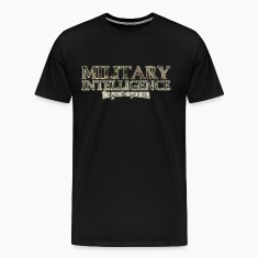 Military Intel: The Great Oxymoron T-Shirt