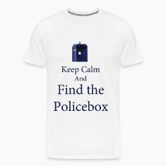 keep Calm and Find the Policebox T-Shirts