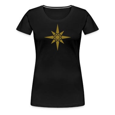 Star Of Ishtar - Venus Star 1, Symbol of the great Babylonian Goddess of love Ishtar (Inanna), c Women's T-Shirts