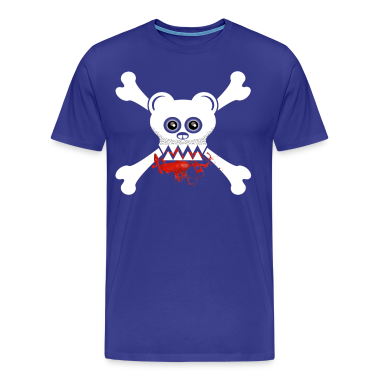 BEAR SKULL AND CROSSBONES T-Shirts