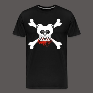 BEAR SKULL AND CROSSBONES - Men's Premium T-Shirt