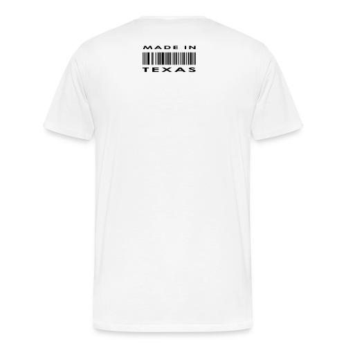Born and raised in texas - Men's Premium T-Shirt