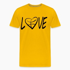 love basketball  T-Shirts