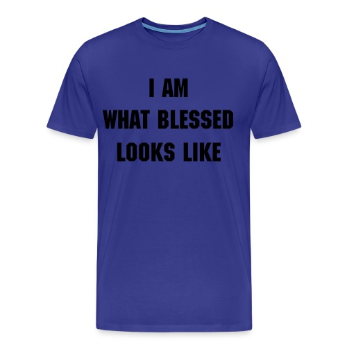 I AM BLESSED TEE - Men's Premium T-Shirt