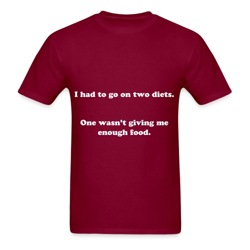 Diet - Men's T-Shirt