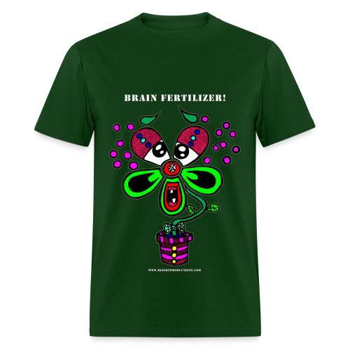 Brain Fertilizer (Men's) dark green - Men's T-Shirt