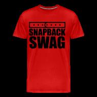 T-Shirts ~ Men's Premium T-Shirt ~ Snapback Swag