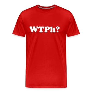 WTPh? White Type Men's - Men's Premium T-Shirt