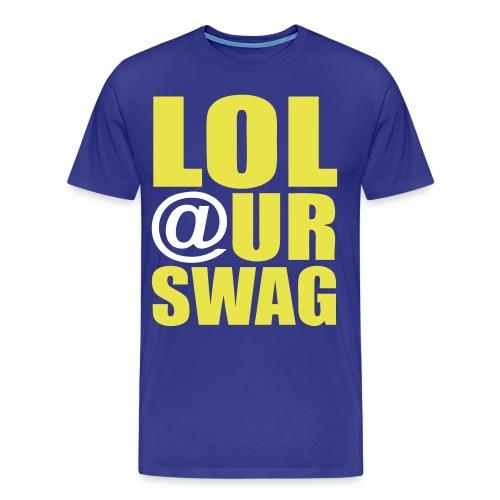 LOL@URSWAG green - Men's Premium T-Shirt