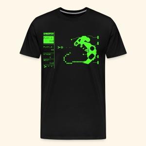 PETtype Screen (neon) - Men's Premium T-Shirt