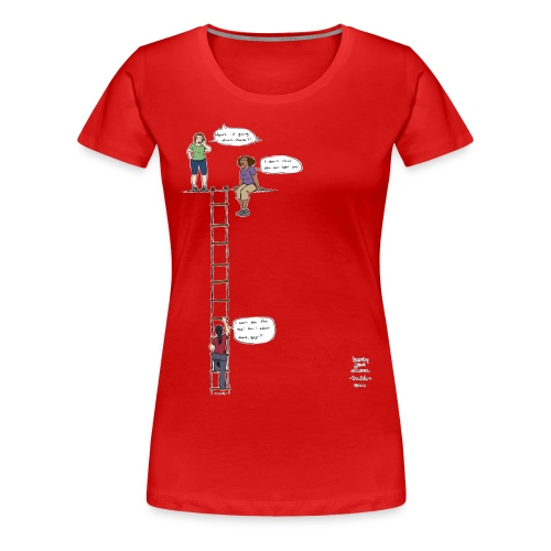 Overhanging Cliff T-Shirt - Plus Size - Women's Premium T-Shirt