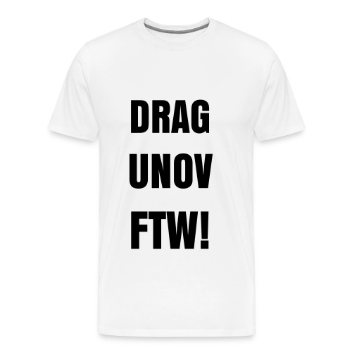 DRAGUNOV FTW TEE - Men's Premium T-Shirt