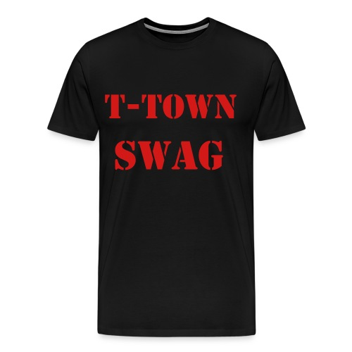 tulsa swag - Men's Premium T-Shirt
