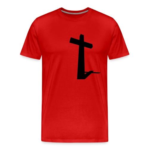 Cross shadow - Men's Premium T-Shirt