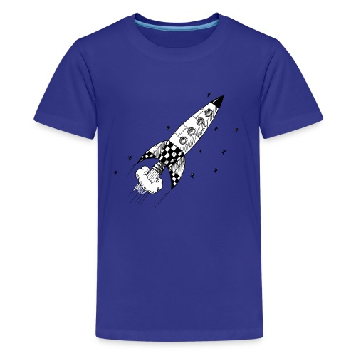 Retro Rocket - Kids' Premium T-Shirt