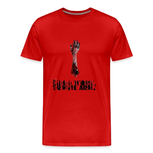 Good Work, Zombie Arm - The Cabin In The Woods | Robot Plunger - Men's Premium T-Shirt