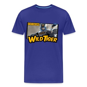 Tiger & Bunny - Wild Tiger Panel Tee - Men's Premium T-Shirt