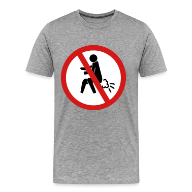 Funny NO Farting Thai Sign T-Shirts