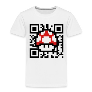 Scan for Power Up - Toddler Premium T-Shirt