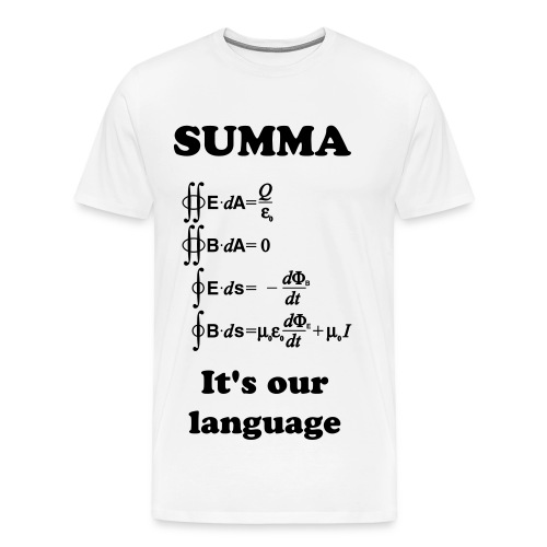 Our Language - Men's Premium T-Shirt