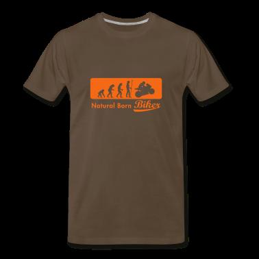 evolution_biker T-Shirts