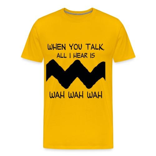 Charlie Brown's Teacher - Men's Premium T-Shirt