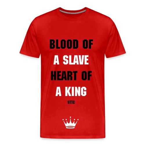 Blood of a Slave tee - Men's Premium T-Shirt