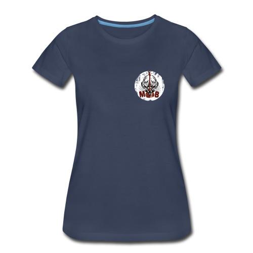Women's MBB Short Sleeve Shirt (Plus Size) - Women's Premium T-Shirt