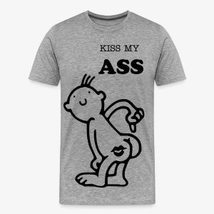 Kiss My Ass - Men's Premium T-Shirt
