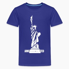 Statue of Liberty 01 Kids' Shirts