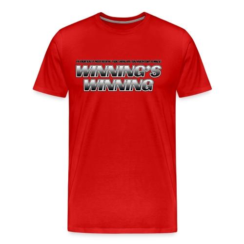 Winning's Winning Heavyweight T-Shirt - Men's Premium T-Shirt