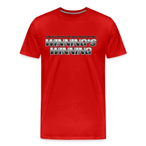 Winning's Winning Heavyweight T-Shirt - Men's Premium T-Shirt