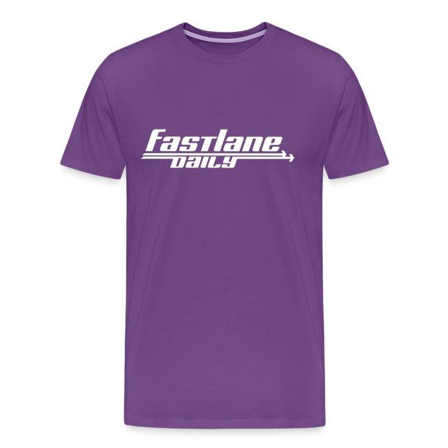 Fast Lane Daily Logo on Heavyweight T