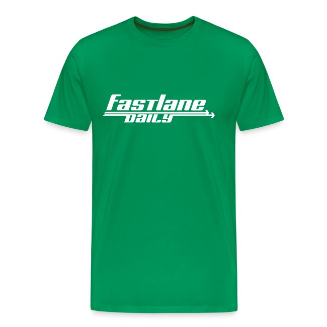 Fast Lane Daily Logo on Heavyweight T