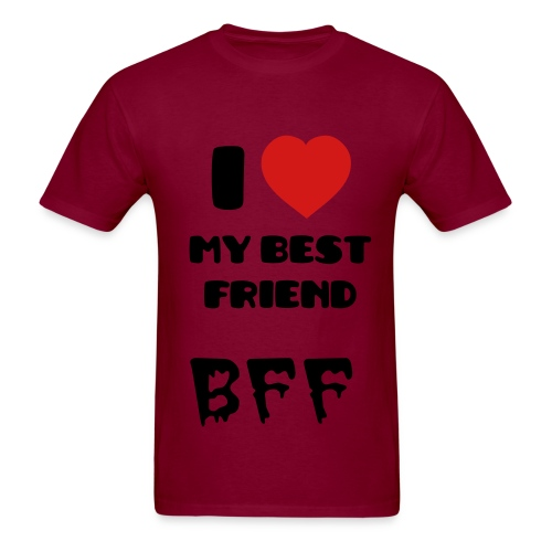I Heart my Best Friend - Men's T-Shirt