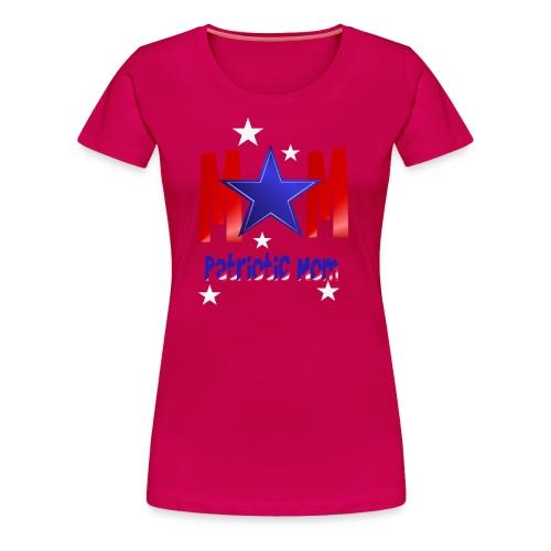 Mom-Patriot Momm - Women's Premium T-Shirt